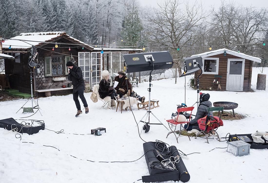 Chic im Schnee