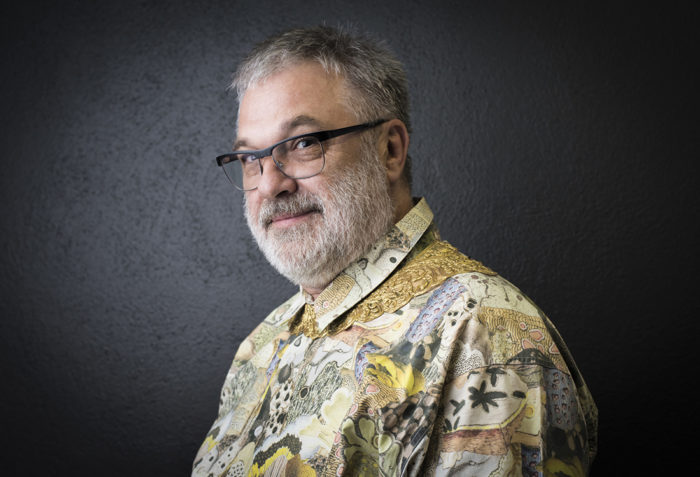 Textildesigner Martin Leuthold